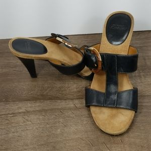 Joan&David Heeled Sandals, Size 7.5